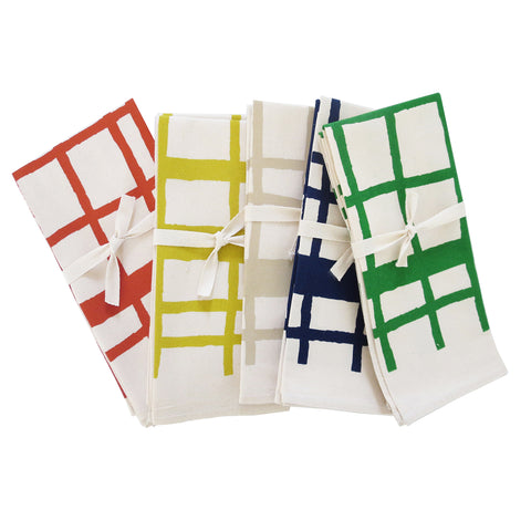 PICNIC COTTON NAPKINS. SET OF 2.