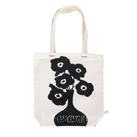 BLACK POPPIES CARRY ALL BAG