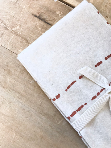RIVER COTTON NAPKINS. SET OF 2.