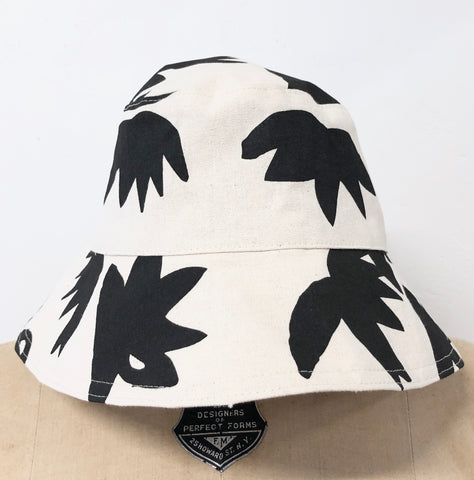 WORN BLACK LOTUS BUCKET HAT
