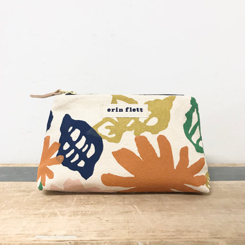 GARDEN MAKEUP ZIPPER BAG