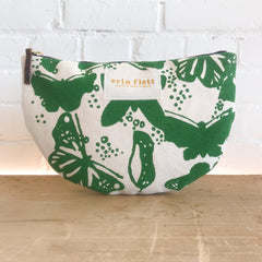 BUTTERFLIES HALF MOON BAG