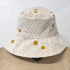 DUSTY PINK NIGHT SKY BUCKET HAT