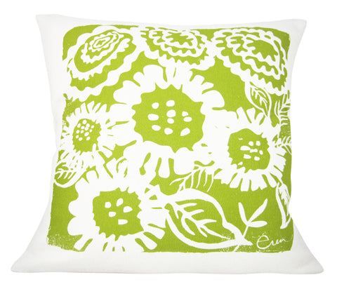 ARIA PILLOW COVER IN VINTAGE GREEN
