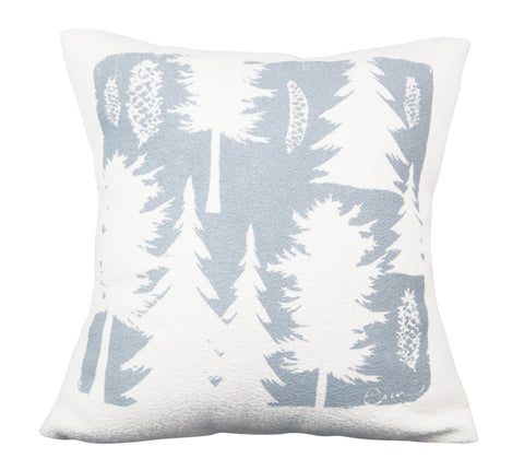 ASHLEY PINE PILLOW COVER IN RAINY DAY