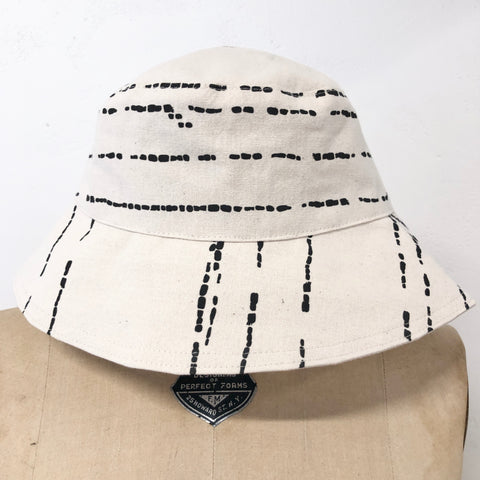 WORN BLACK RIVER BUCKET HAT