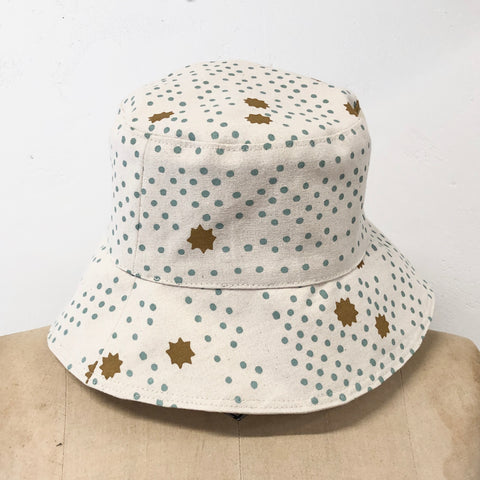 ROBINS EGG NIGHT SKY BUCKET HAT