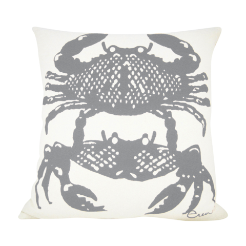CRABBIES RAINY DAY PILLOW COVER