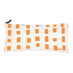 MANGO SQUARES OYSTER LINEN PILLOW