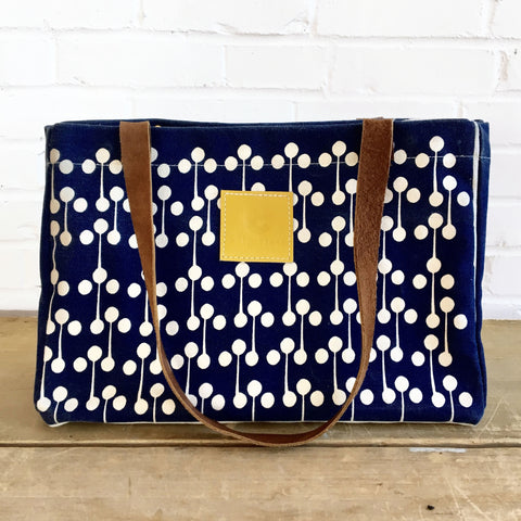 NAVY LOLLIPOP ERIN BAG