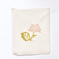DUSTY PINK FLOWER TEA TOWEL