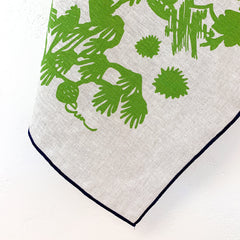 EVERGREEN DEEP WOODS OATMEAL LINEN TEA TOWEL