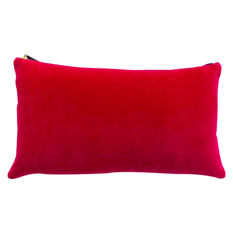 BERRY VELVET PILLOW