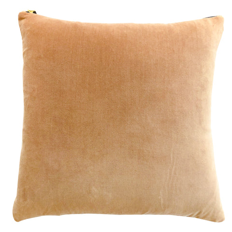 CASHMERE COTTON VELVET PILLOW