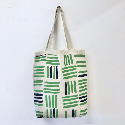 KALE GRID CARRY ALL BAG
