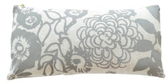 RAINY DAY FLORAL GARDEN LINEN PILLOW