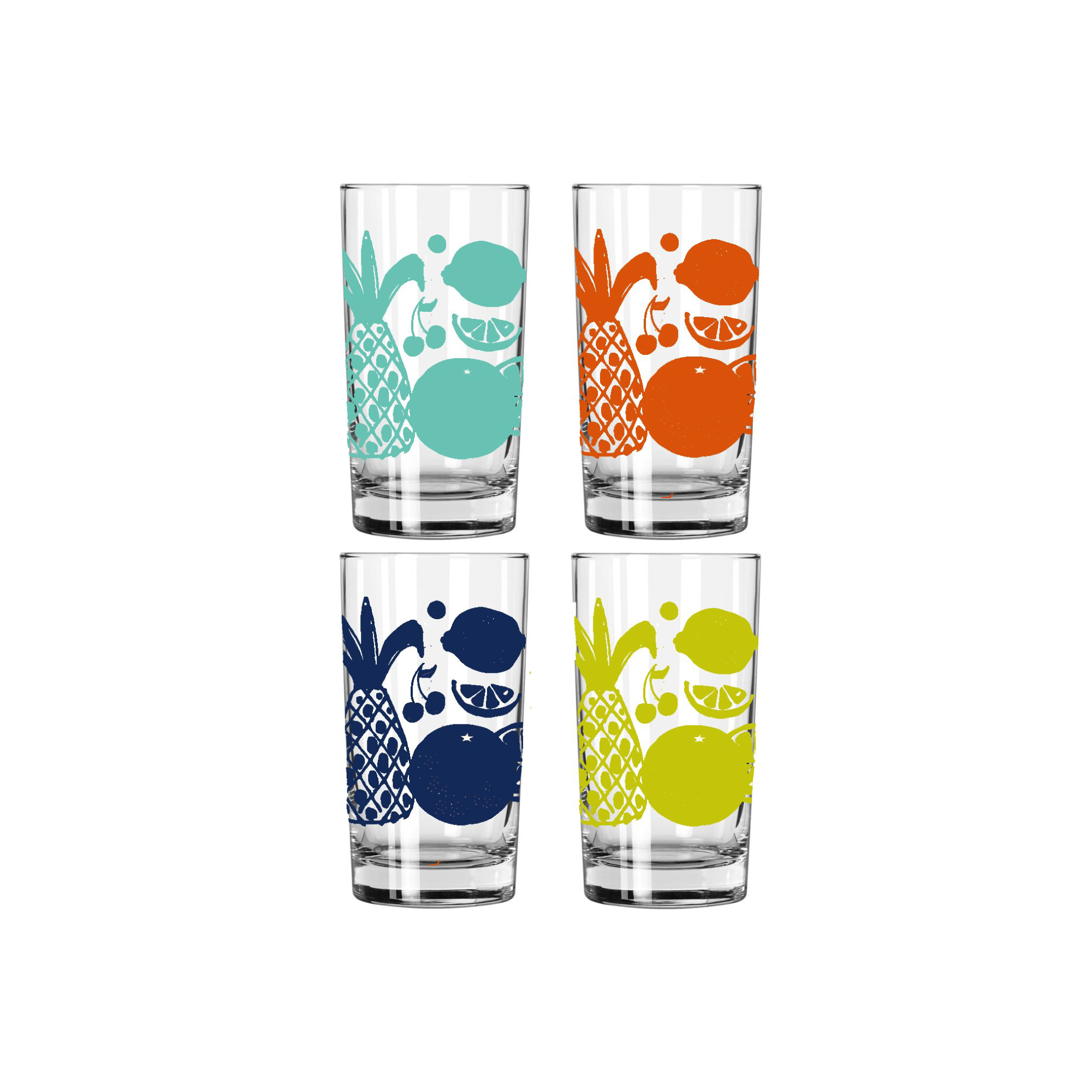 FRUIT JUICE GLASS SET