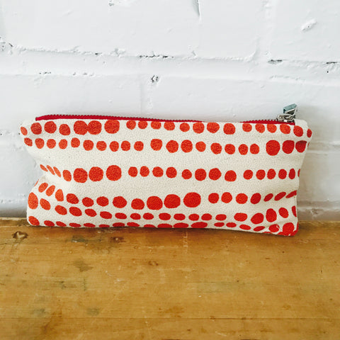 TOMATO HILARY ZIPPER BAG