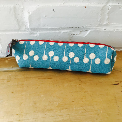 SEA BLUE LOLLIPOP ZIPPER BAG