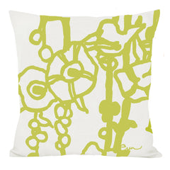 MELLO YELLOW GEORGE LINEN PILLOW