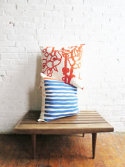 TWO COLOR CASCO PILLOW COVER