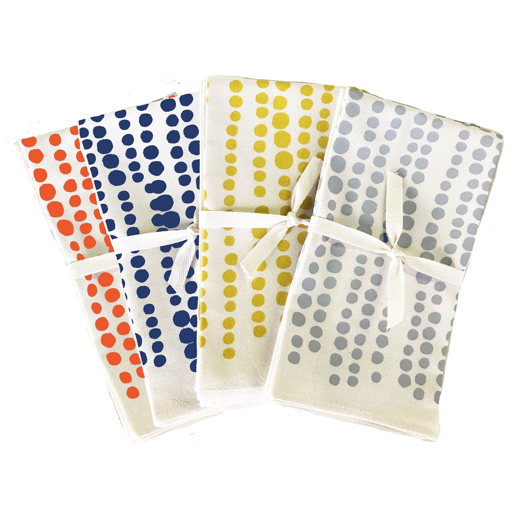 HILARY COTTON NAPKINS. SET OF 2