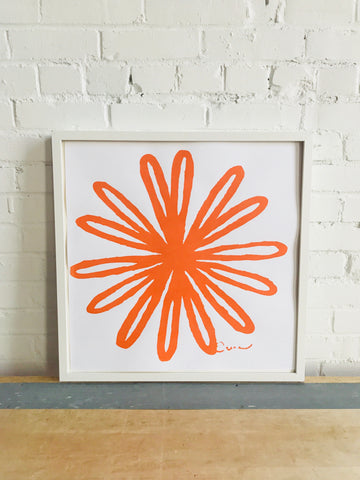 SHIPS NOW! MANGO BLOOM PAPER PRINT
