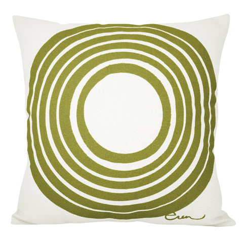 SUN OFF WHITE BARK CLOTH PILLOW COVER