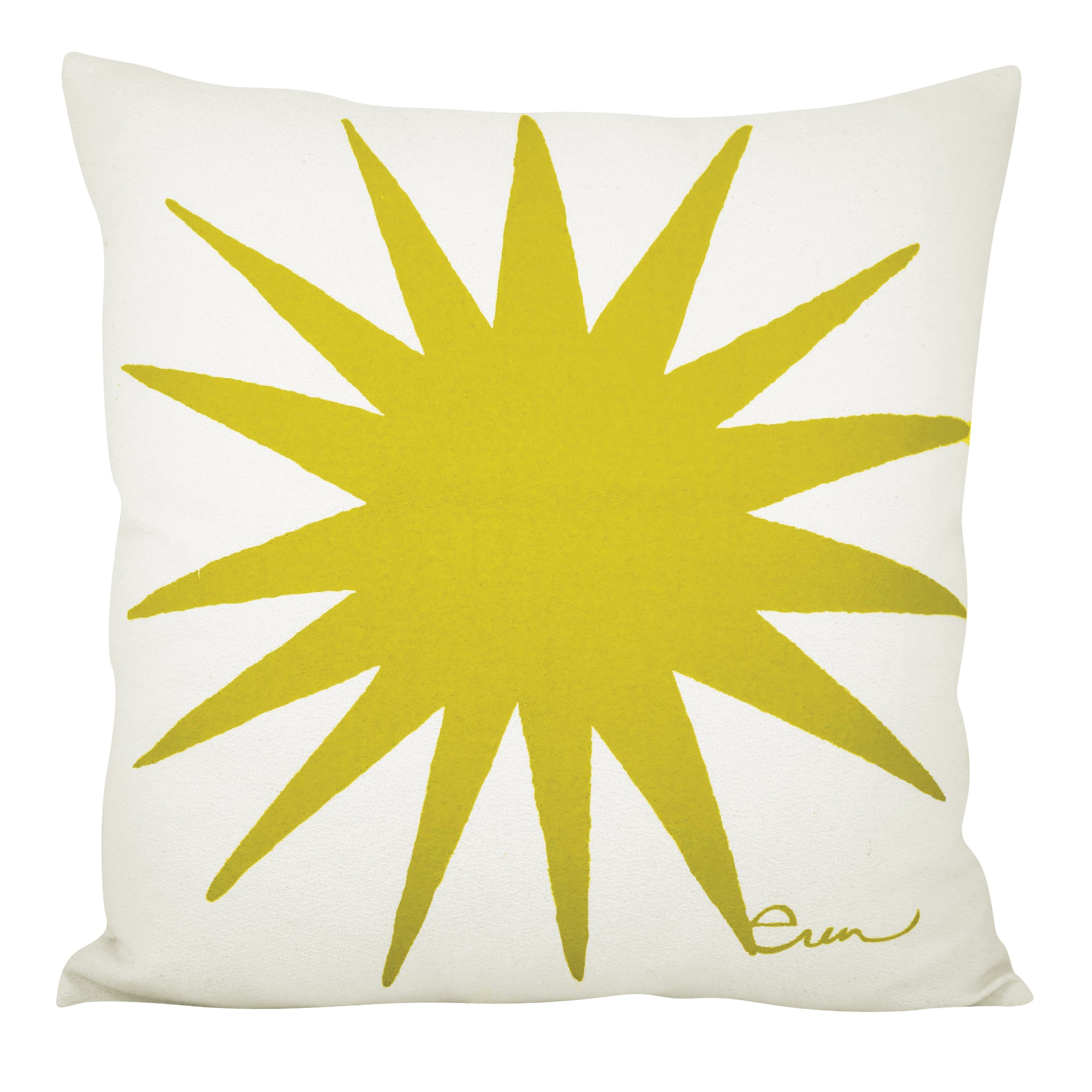 GOLDEN ROD BURST PILLOW