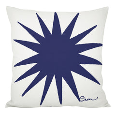 NAVY BURST PILLOW