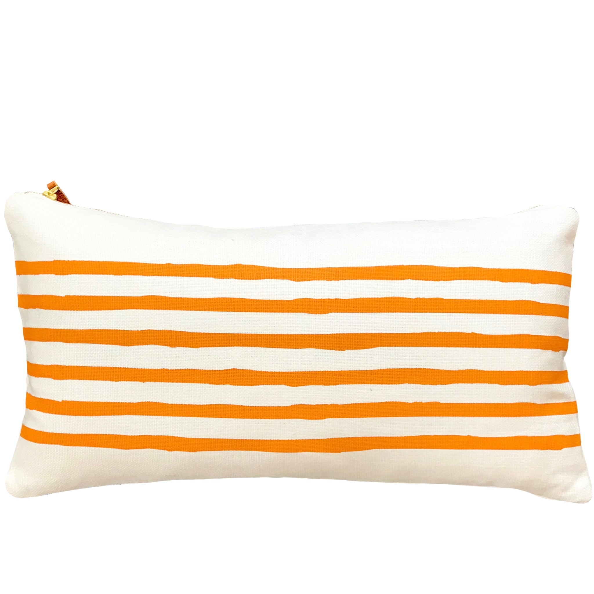 TANGERINE 6 LINE LUMBAR PILLOW COVER