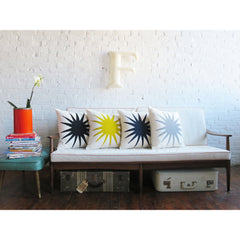 BLACK BURST PILLOW