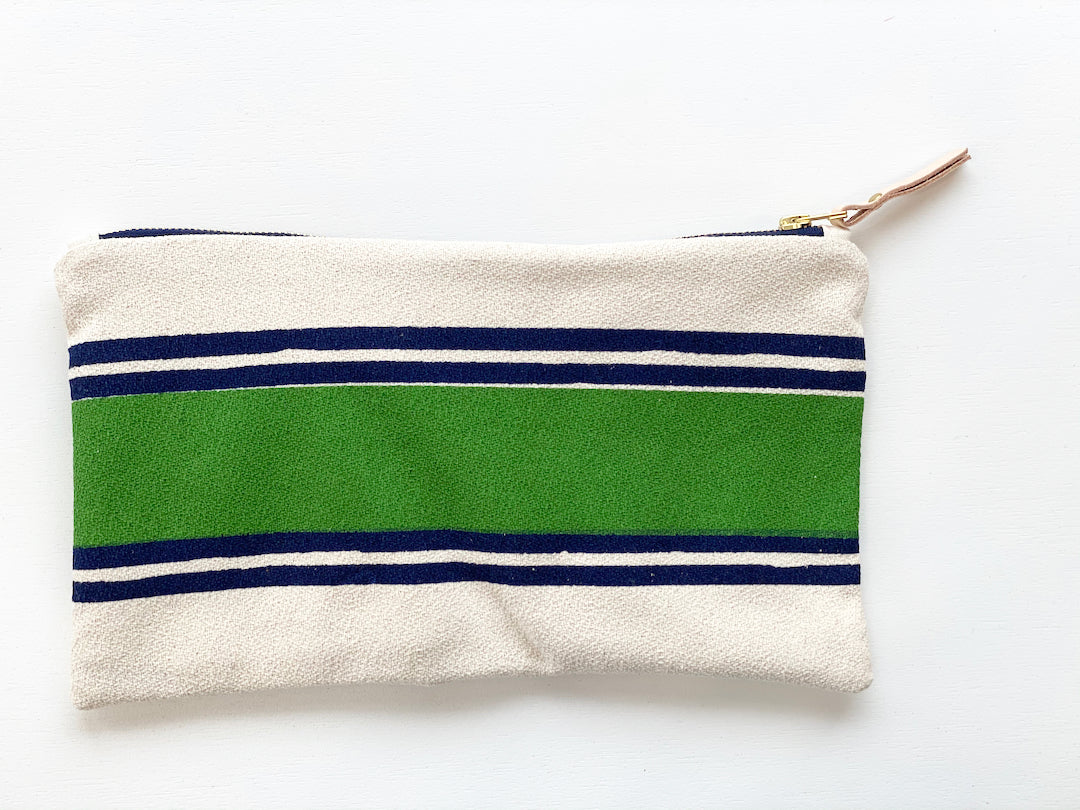 SHIPS NOW! KELLY BAND CLUTCH ZIPPER BAG