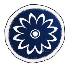 ROUND SUNFLOWER PILLOW