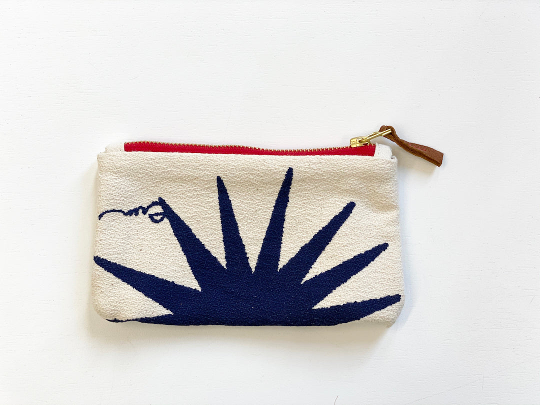 SHIPS NOW! NAVY BURST CARD WALLET