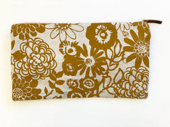 SHIPS NOW! SIENNA WILD GARDEN CLUTCH ZIPPER BAG