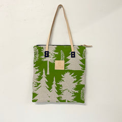 SHIPS NOW! EVERGREEN ASHLEY PINE MOD TOTE BAG