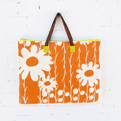 MANGO DAISY THORN FOLDER BAG