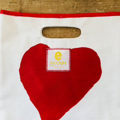 HEART LUNCH BAG