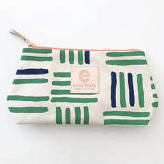 SHIPS NOW! KALE GRID JEN BAG