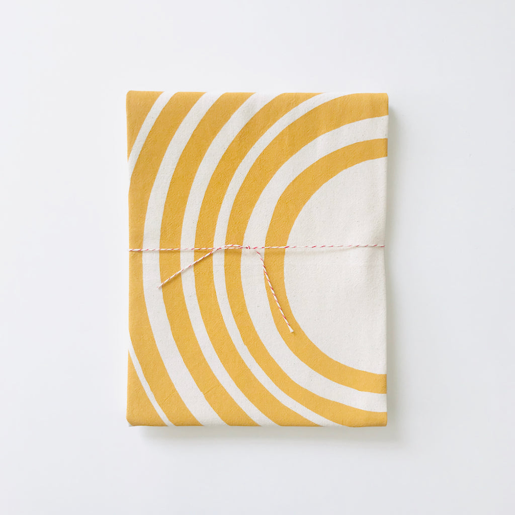 SHIPS NOW! YOLK SUN TEA TOWEL