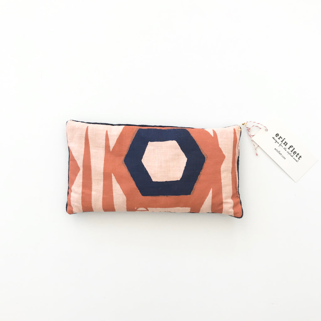 SHIPS NOW! TOMATO HEXAGON EYE PILLOW
