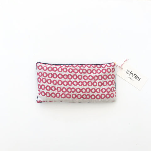 SHIPS NOW! BERRY DECO DOT EYE PILLOW