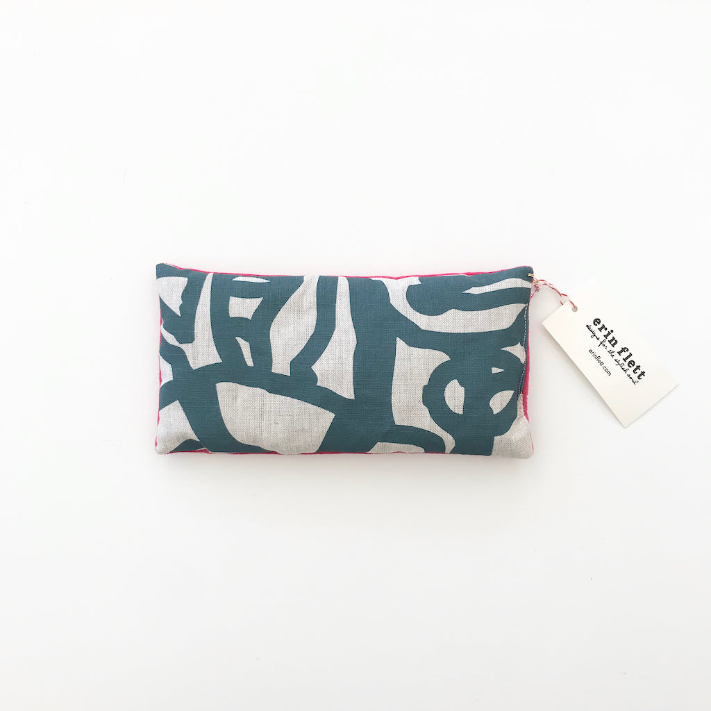 SHIPS NOW! TURQUOISE GEORGE EYE PILLOW