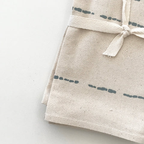 SHIPS NOW! RIVER COTTON NAPKINS. SET OF 2.