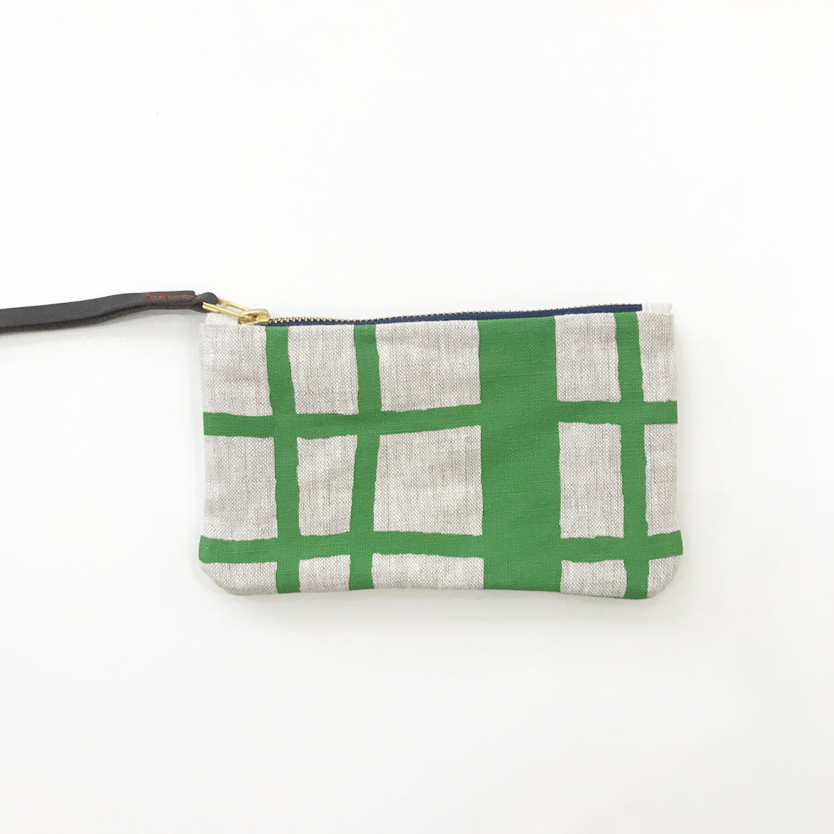 SHIPS NOW! KELLY PICNIC WRISTLET ZIPPER BAG