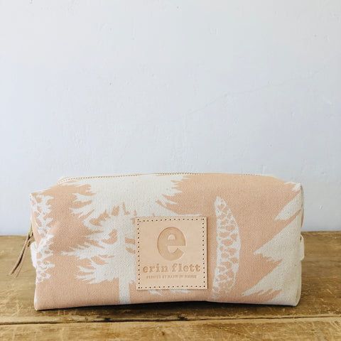 DUSTY PINK ASHLEY PINE DOPP KIT