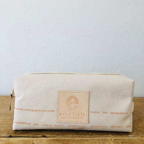DUSTY PINK RIVER DOPP KIT