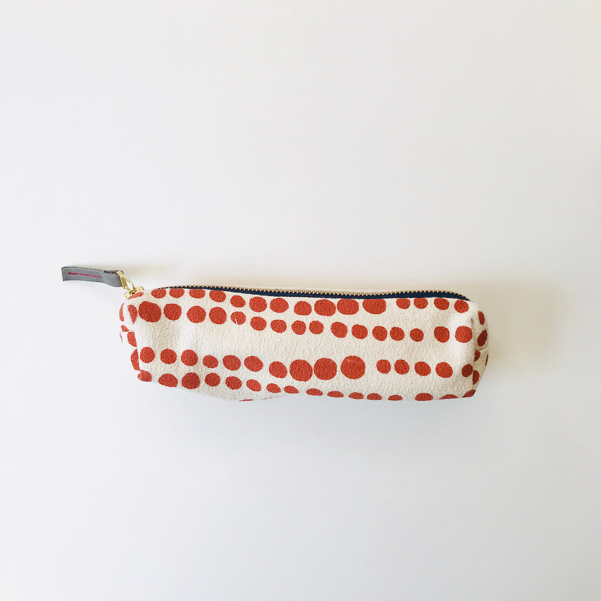 SHIPS NOW! TOMATO HILARY PENCIL ZIPPER BAG