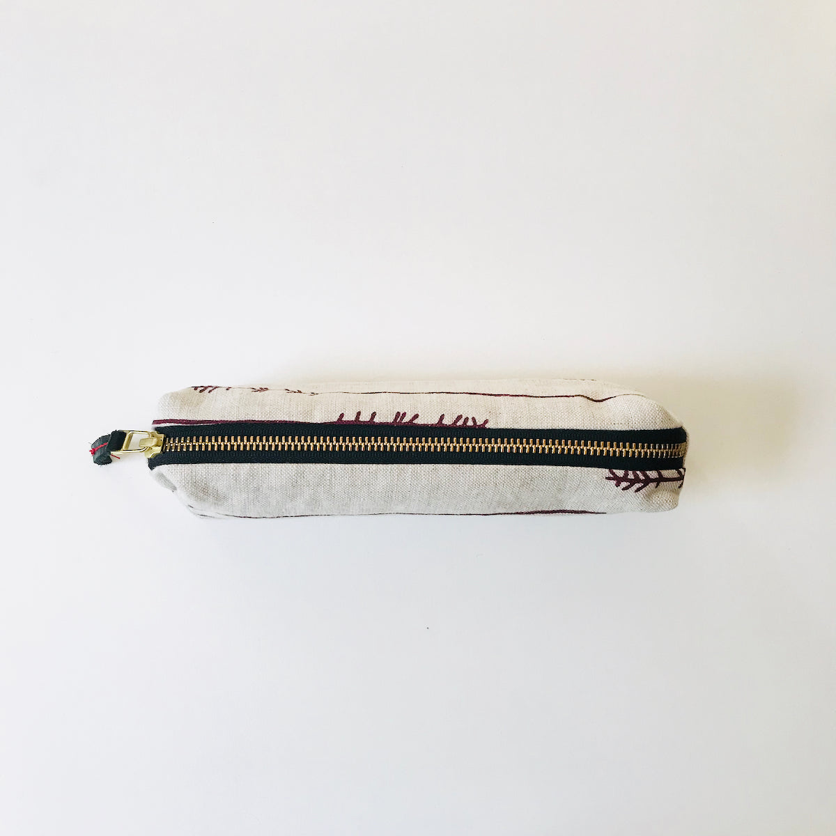 SHIPS NOW! WINE TWIGS PENCIL ZIPPER BAG